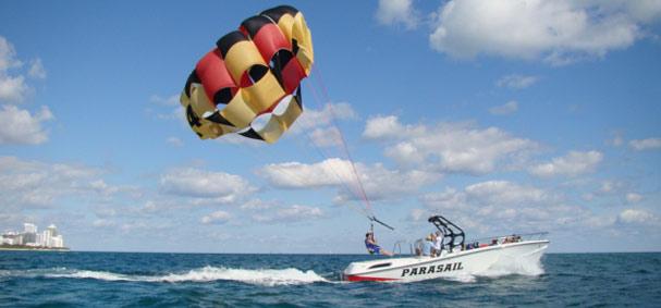 Miami Beach Parasail